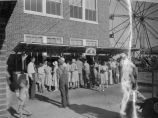 Pop stand at Johnson County Fair, 1933