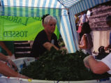 Spinach Festival Scene - Largest Spinach Salad Ever.